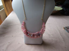 Quartz Oval Stone Costume Necklaces & Pendants