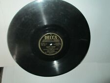 FRED WARING - SILENT NIGHT / O GATHERING CLOUDS rare 78 rpm Christmas Decca VG