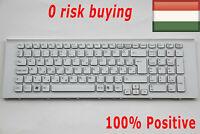 For Sony Vaio VPCEJ VPC-EJ2E1E VPC-EJ2Z1E PCG-91211M Keyboard Hungarian HU White