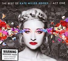 KATE MILLER-HEIDKE The Best Of Act One 2CD BRAND NEW Gatefold Sleeve