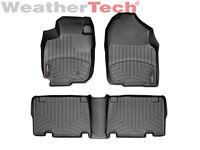 WeatherTech DigitalFit FloorLiner for Toyota RAV4 - 2006-2012 -1st/2nd Row-Black
