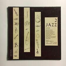 "JAZZ 2 THE BLUES ~ FOLKWAYS LP W. BOOKLET ~ ORIGINAL 1956 PRESS ""DG"" STAMP !"