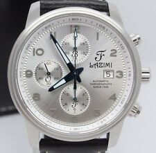 Lazimi Automatic Chronograph 42mm Stainless Steel Mens Watch Limited Edition #2