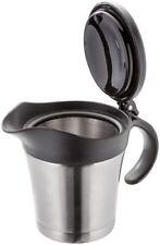 Judge Thermal Insulated Stainless Steel Gravy Sauce Custard Milk Jug Pot + Lid