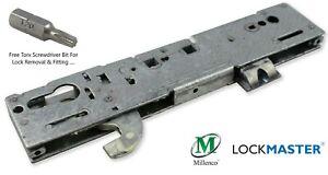 Lockmaster - Millenco Upvc Gearbox Door Lock (Hook) 35mm 92mm 62mm Night Latch