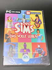 Rare GERMAN The SIMS die Sims Party Ohne Ende - Party Without End - PC Game NEW