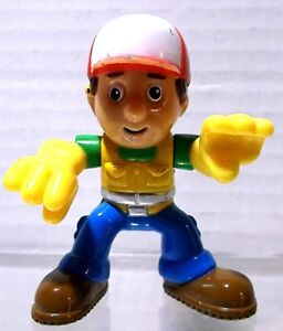"2.5"" T HANDY MANNY 2009 Mattel DISNEY Action Figure Toy China"