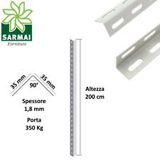 Scaffale in metallo COMPONIBILE varie misure e portate tipo pesante con rinforzo
