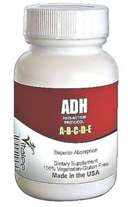 ADH-Autism & Attention Deficit Hyperactivity a Neuro disorder (Adult Caps 60ct)