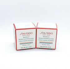 Lot of 2 Shiseido Benefiance Wrinkle Smoothing Cream 15ml NEW IN BOX