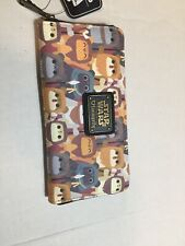 Loungefly Star Wars Ewok Faux Leather Mini Wallet Disney Cute