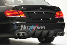 Carbon Fiber Rear Diffuser+Exhaust Tips For Mercedes Benz W212 E63 Sedan AF-0491