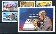 Turks & Caicos QEII 1982 Washington & Roosevelt SG700/3 MS704  MNH
