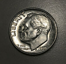 1959 Roosevelt Dime *90% Silver* *Good Album Filler* *Free Shipping*