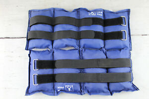 MFP 10lbs Each one is 5 lbs lAnkle Weights Adjustable Straps Blue Good condition