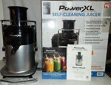 PowerXL Self-Cleaning Juicer 3 Speeds 1200 Watts Model SHL96