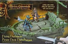 ~ Pirates of the Caribbean - FLYING DUTCHMAN PIRATE DECK DUEL PLAYSET Mans Chest