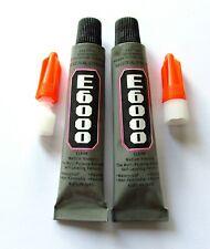 E6000 multipurpose industrial strength adhesive, super glue, 9 ml tubes of glue
