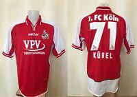FC Koln #71 2002/2003 Home Size L Saller soccer shirt jersey football trikot