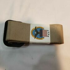 Genuine US Army Military Belt Riggers ACU Uniform Sand Desert Colored Size 44