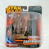 "Star Wars Revenge of the Sith Anakin Skywalker Changes To Darth Vader ""NEW"""