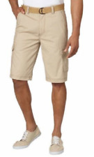 Men's Wear First  Legacy Belted Cargo Shorts , Color : Chinchilla