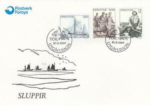 (90188) Faroe Islands FDC Fishing 1984