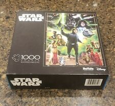 Star Wars, Buffalo Games & Puzzles 1000 Piece Puzzle, 100% Complete, Rare
