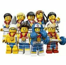LEGO 8909 FULL SET OF 9 GB OLYMPIC MINIFIGURES BRAND NEW OLYMPICS COMPLETE