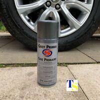 6 X Autosmart Grey Primer 400ml (Grey spray for car metals plastics) CAR CARE