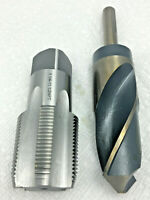 SILVER /& DEMING BIT 37//64 X 1//2 SHK S/&D Tap Drill  for 3//8-18 NPT Tap M7