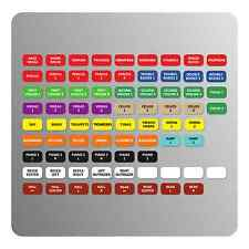 Orchestra Magnetic Labels for Allen & Heath Qu-16/24/32 mixers