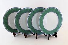 4 Pc Vintage Villeroy & Boch Switch 3 Porcelain Salad Plate Set