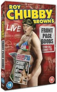 Roy Chubby Brown: Front Page Boobs stand-up *NEW/SEALED* DVD cert 18 *FREEPOST*