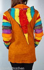 Gugel veste vintage rainbow NEPAL ETHNO taille 36-40