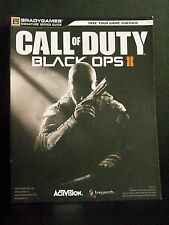 Call Of Duty Black Ops II xbox 360 Brady Games Guide Book 312 pages