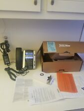Polycom 2200-44500-001 VVX 500 Business Media Phone with box and accessories