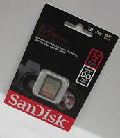 Sandisk 32G extreme V20 DX 4K HD SD card for Nikon D3500 D3400 D3300 D3200 D3100