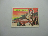 Topps card set Battle cards Number 39 Vintage Pacific War Trading Card WW2 1965