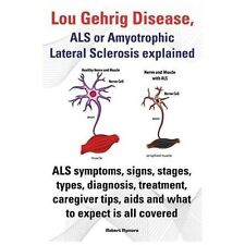 Lou Gehrig Disease, ALS or Amyotrophic Lateral Sclerosis Explained. ALS Symptoms