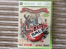 XBOX 360 LIPS NUMBER ONE HITS NEW & SEALED GAME 1!