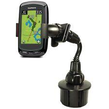 360°ROTATION Garmin Approach G3 G5 G6 GPS Cart Bendy Gooseneck Cup Holder Mount