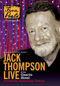 Jack Thompson: Live At The Gearin Hotel - Favourite Australian Poems - New DVD