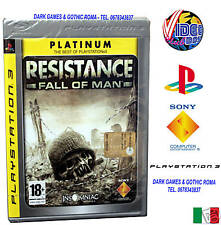 RESISTANCE FALL OF MAN PS3 VERSIONE ITALIANA SONY PS3