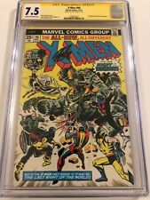 X-Men #96 CGC 7.5  SS Signed by STAN LEE