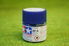 Tamiya Color Azul Plano Pintura Acrílica Mini XF8 10mls