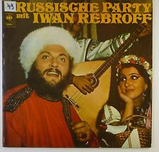 """12"""" LP - Iwan Rebroff - Russische Party - k5803 - washed & cleaned"""