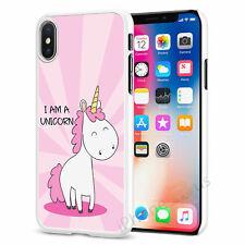 Linda Funda para Estuche de teléfono de Unicornio iPhone Samsung Huawei Sony OnePlus 078-5