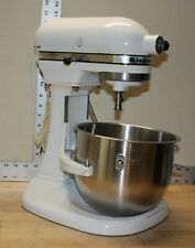 Vintage Hobart Kitchen Aid Mixer Model K5-A Heavy Duty Lift Stand Color - White