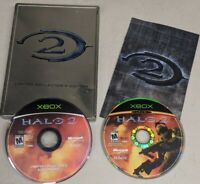 Halo 2: Limited Steel Case Collector's Edition (Microsoft Xbox, 2004)